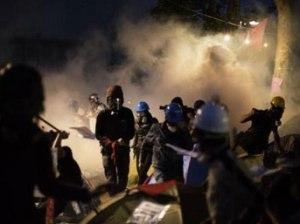 Gezi Parkı'na Cumartesi akşam müdahalesi